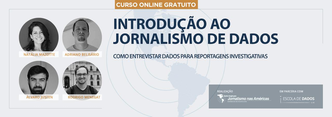 Introducão ao Jornalismo de Dados Banner