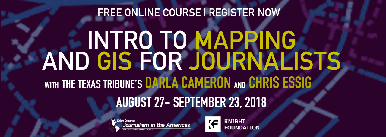 Intro to Mapping and GIS for Journalists