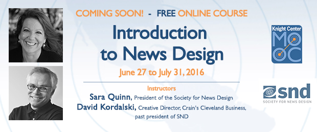 Introduction to News Design
