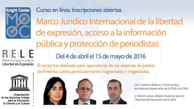 International Legal Framework for Freedom of Expression