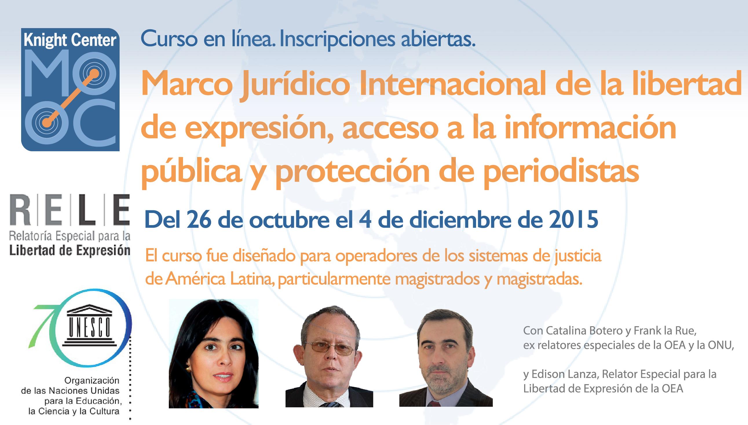 International Legal Framework on Freedom of Expression