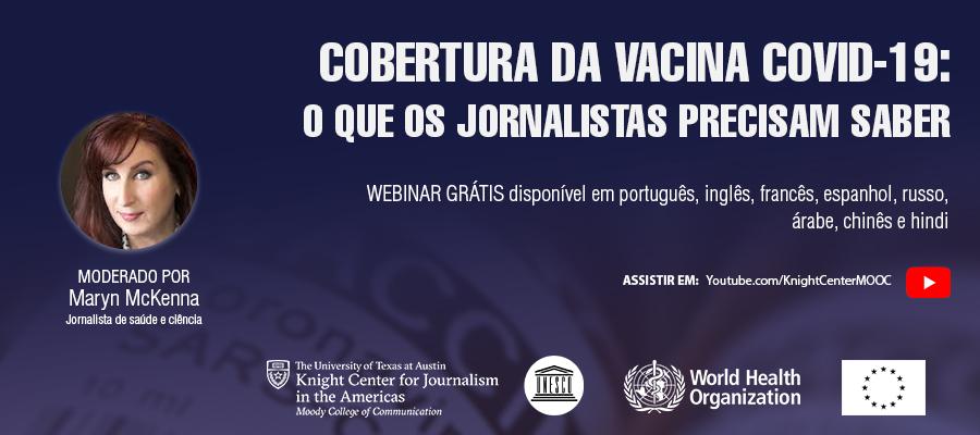 Banner do webinar de vacinas COVID SPA