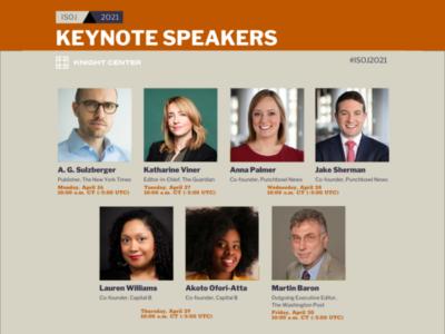 ISOJ 2021 keynotes