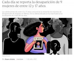 Itxaro Arteta's data journalism project for Animal Político